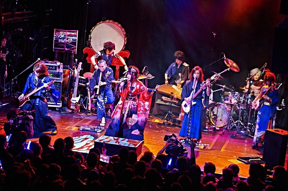 ニューヨークの和楽器バンド