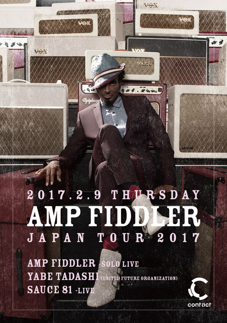 1165ada9b15 iFLYER  Amp Fiddler Japan Tour 2017 at Contact