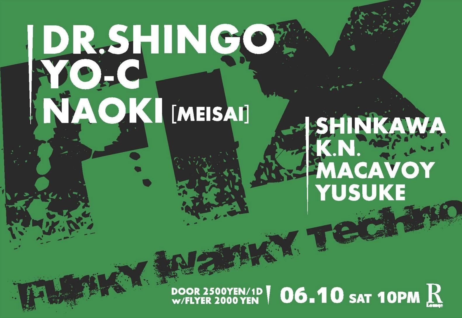 iFLYER: FIX #026 at R-LOUNGE, Tokyo