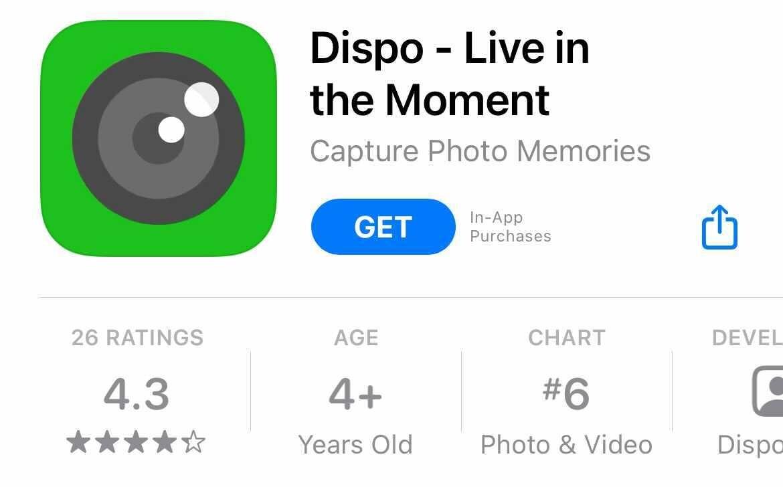 アプリ dispo