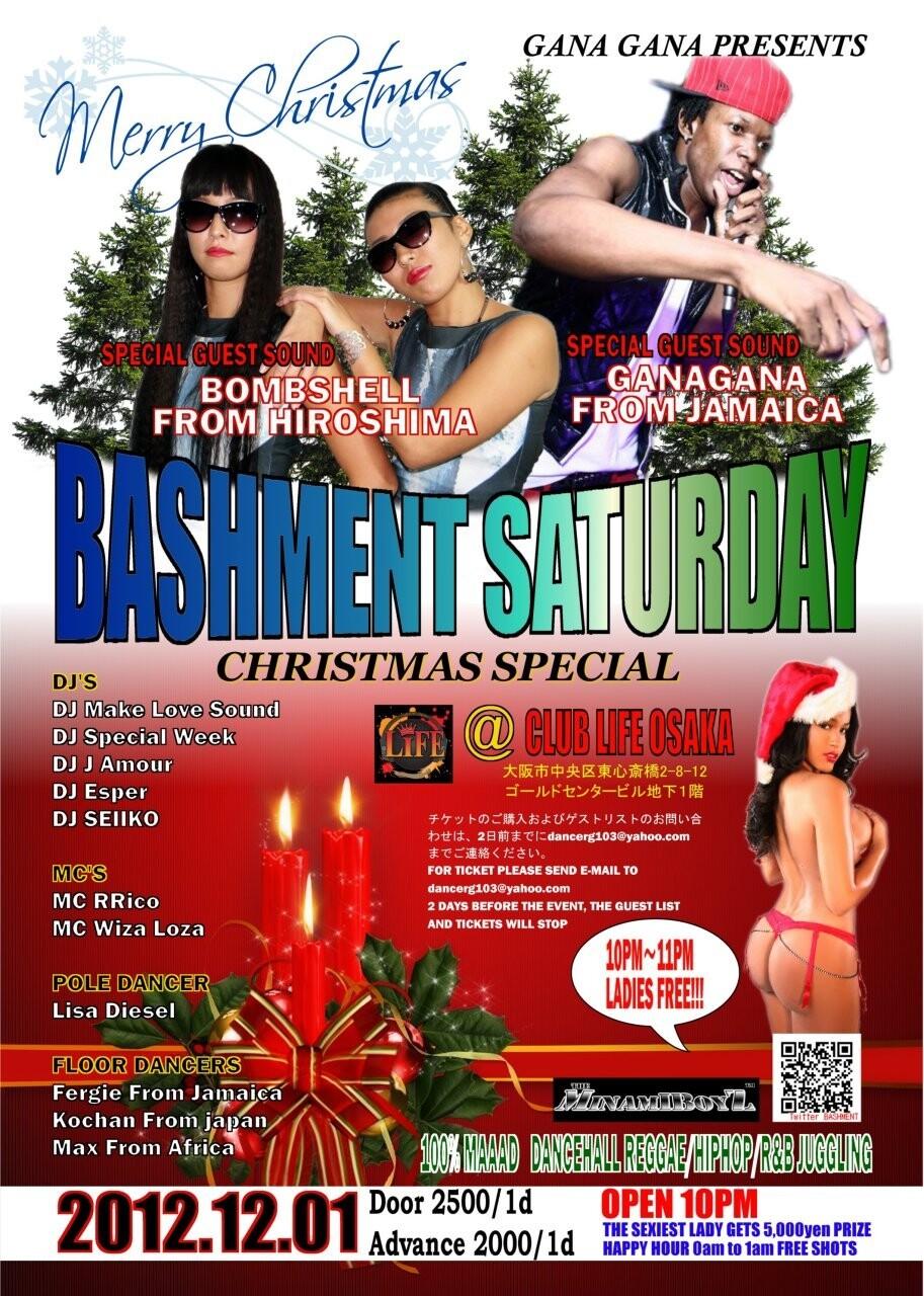 iFLYER: BASHMENT SATURDAY X-MAS PARTY + (POLE DANCER LISA B