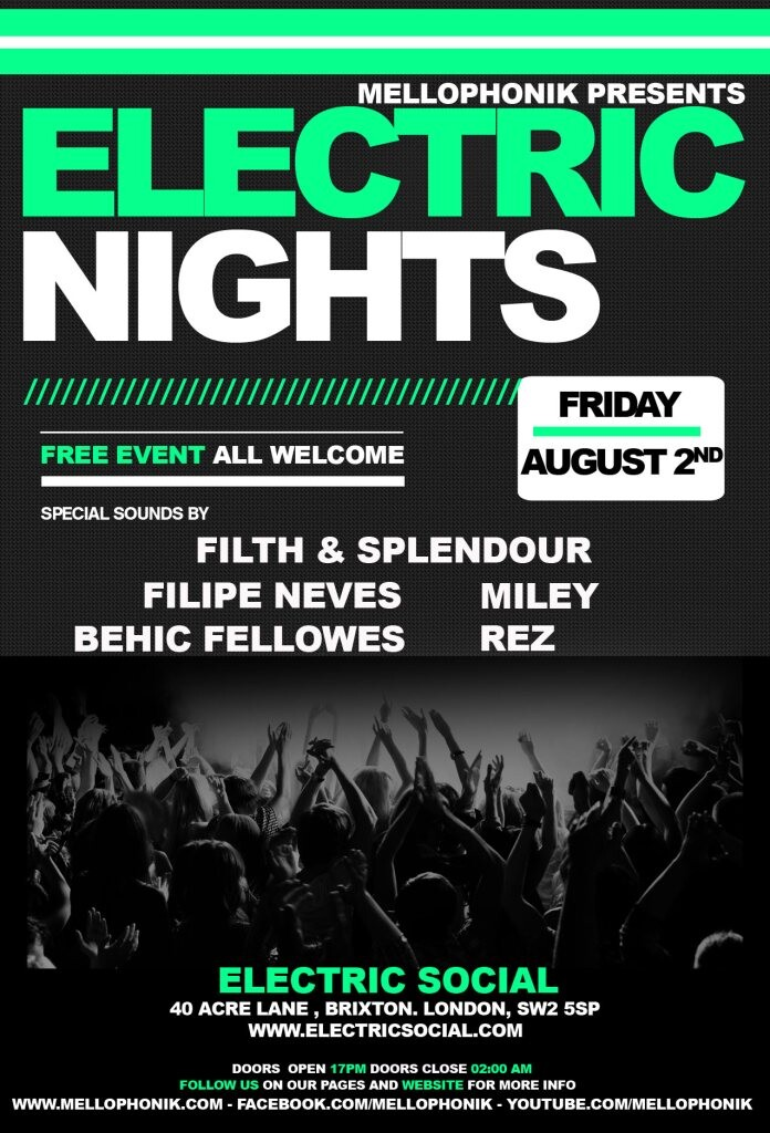 iFLYER: Electric Nights at Electric Social, London
