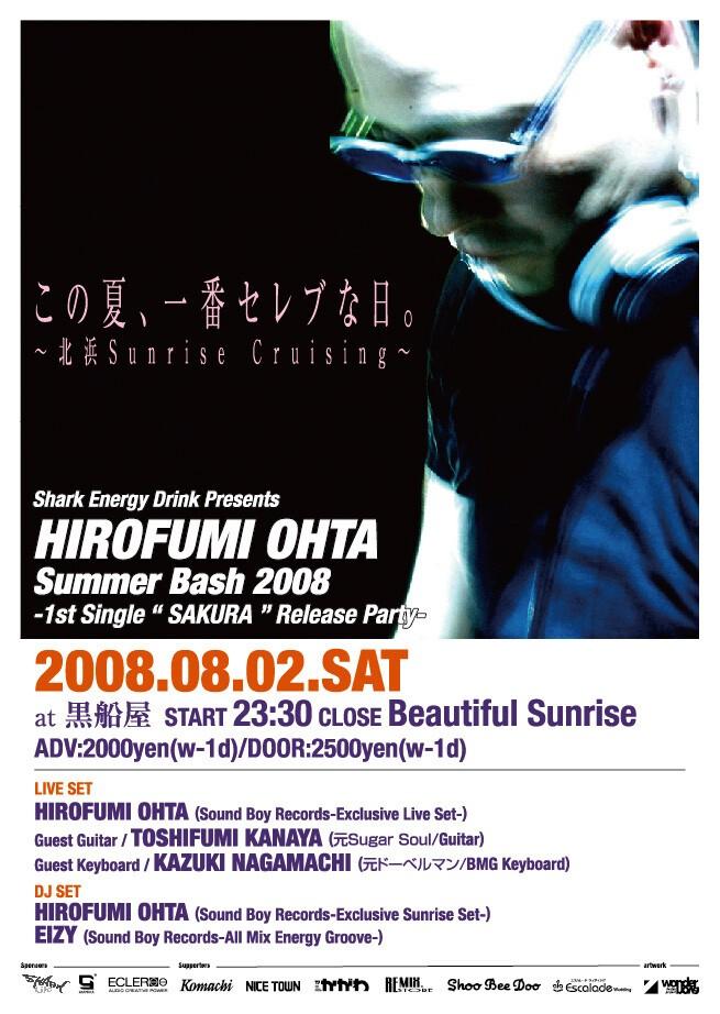 iFLYER: HIROFUMI OHTA / About - DJ