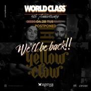 「WORLD CLASS 5th Anniversary」 公演延期のお知らせ