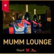 夏期限定!人気シャンパン「G.H.MUMM」とのコラボラウンジOPEN!