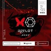 渋谷 CLUB CAMELOTにてコラボイベント「ageLOT2021 Vo.3」開催決定!!