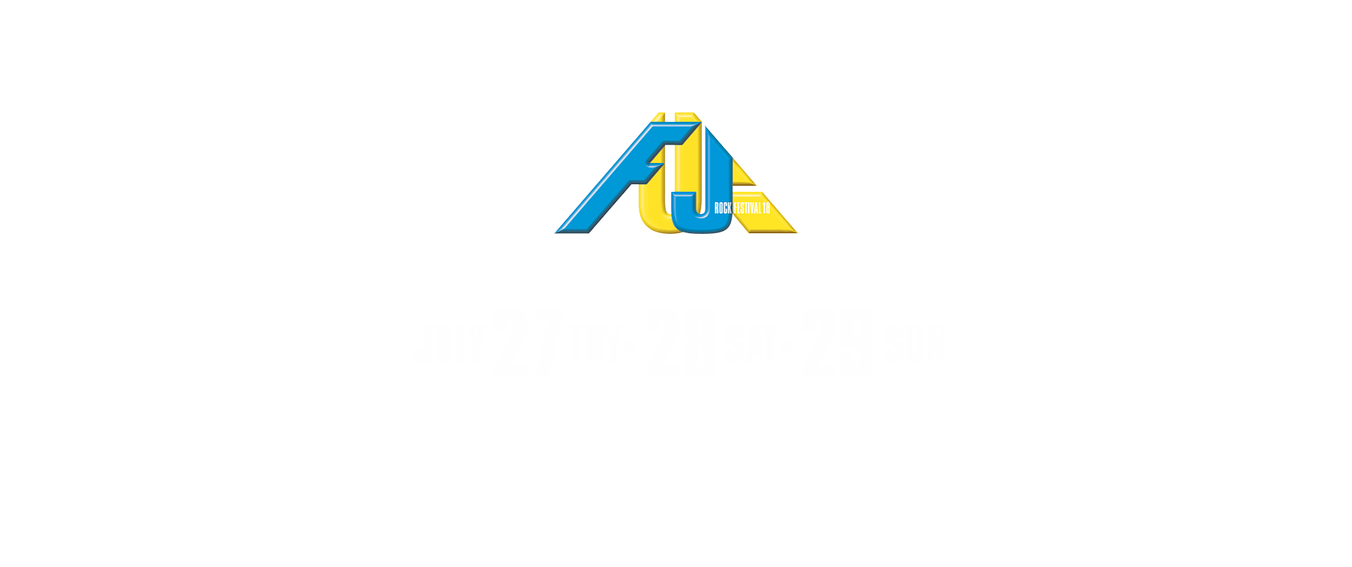 Fuji, Rock, Festival, FujiRock, frf, Japan, Tour, 2018
