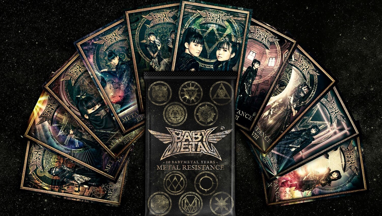 BABYMETAL(ベビーメタル)、結成10周年を記念した初のNFTトレーディングカードの発売が決定!