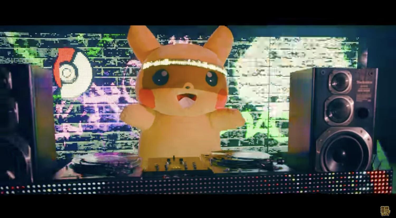 【DJ ピカチュウ】ポケモンの公式YouTubeチャンネル、ポケモンのゲーム音楽をリミックスしたDJセットをアップ