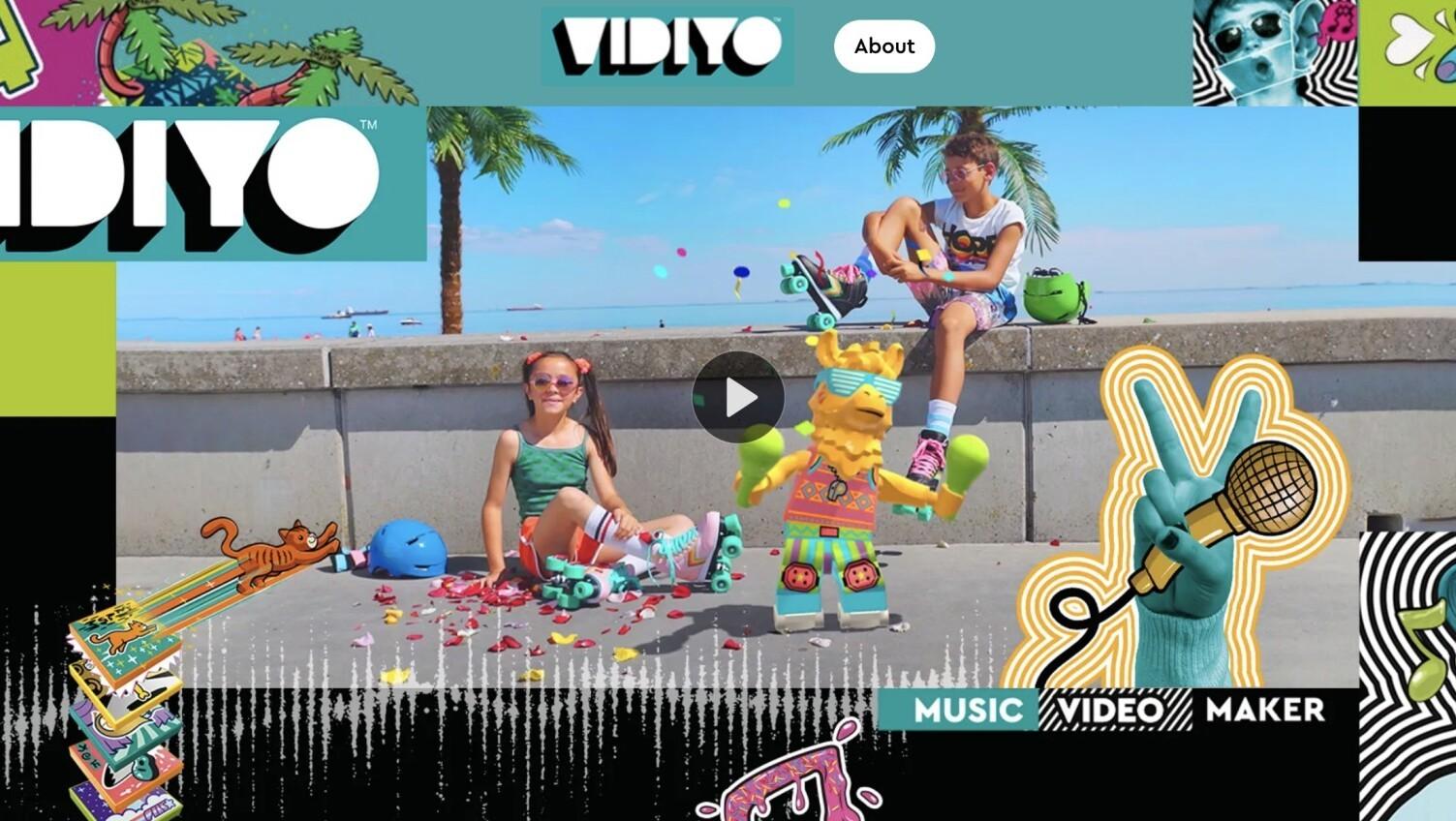 好きなアーティストの楽曲のカスタムMVを作れる!3月1日、LEGO(レゴ)がリリースする新たな拡張現実プラットフォーム「VIDIYO」がMarshmello(マシュメロ)の楽曲をフィーチャー!