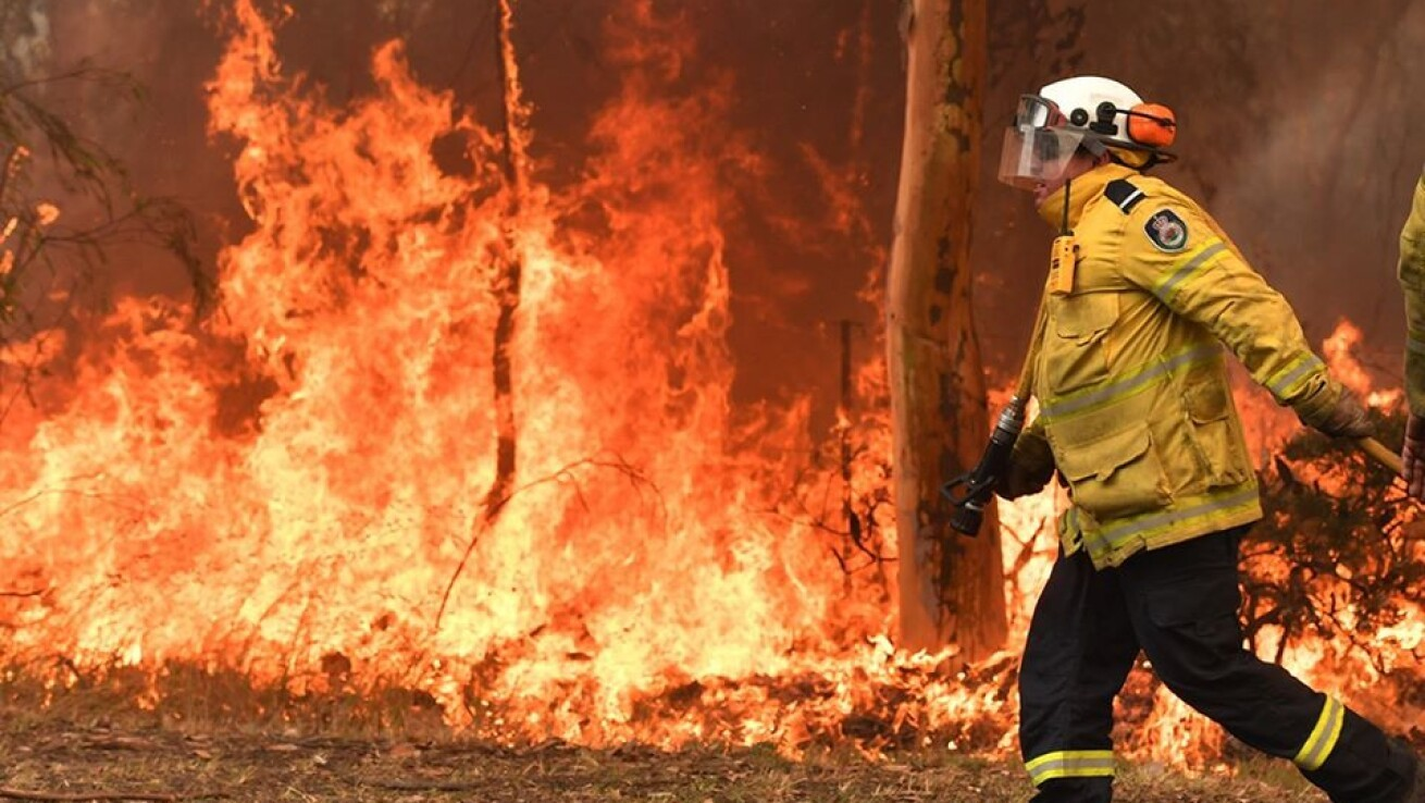 火災 範囲 オーストラリア
